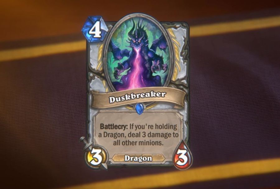 Is Duskbreaker the strongest card in the history of Hearthstone?