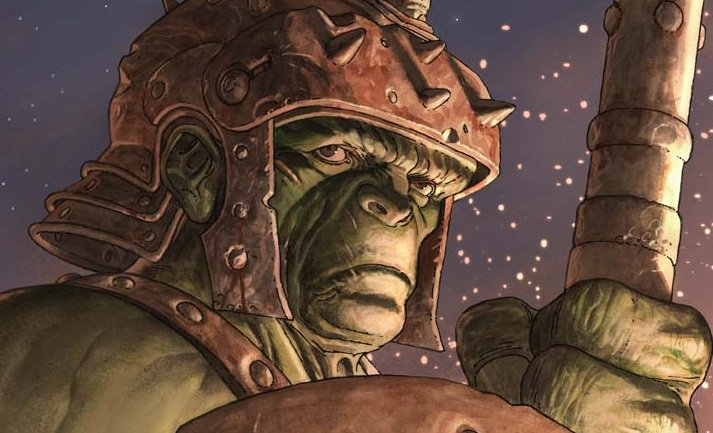 "Revisiting for the First Time:  I finally read ""Planet Hulk"""