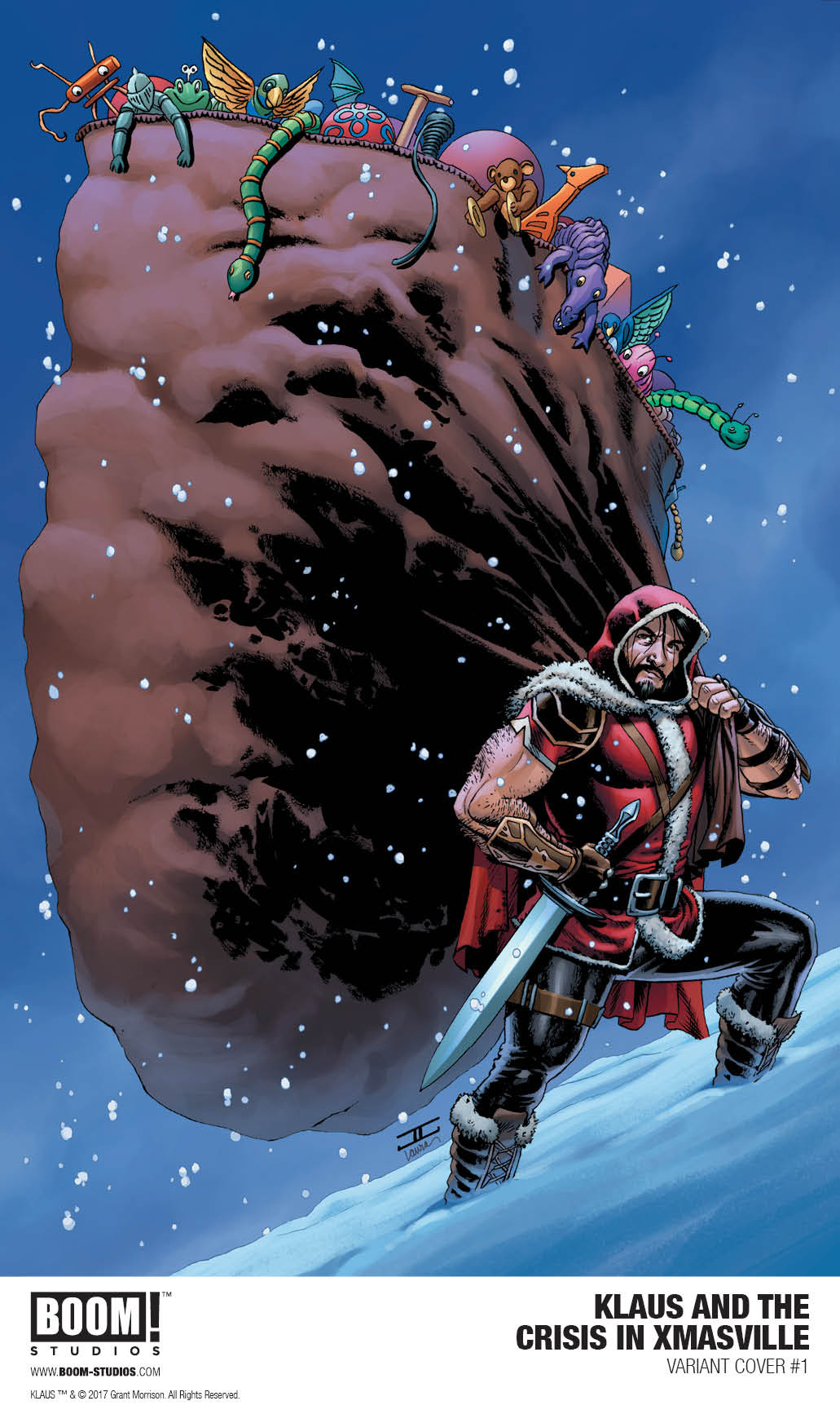 Frank Quitely and John Cassaday join Grant Morrison and Dan Mora's 'Klaus and the Crisis in Xmasville'