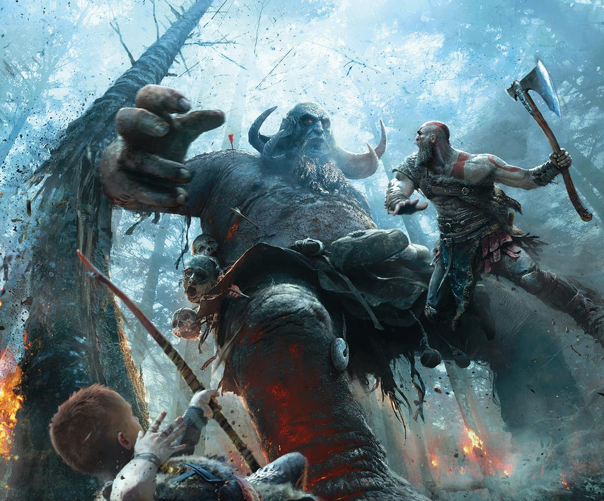 'God of War' is getting a new comic and art book thanks to Dark Horse, Santa Monica Studio, and Sony