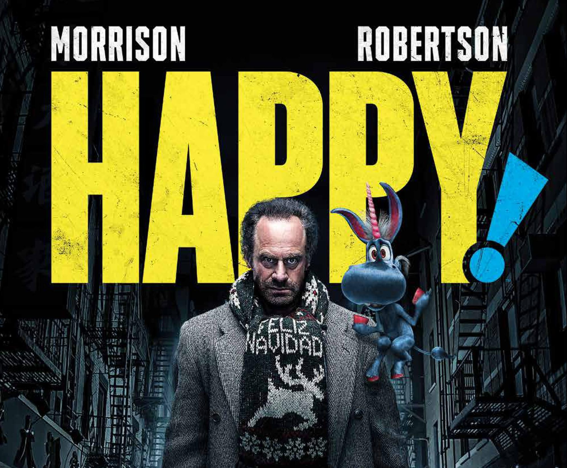 'Happy! Deluxe Edition' review: One of Grant Morrison's greatest stories