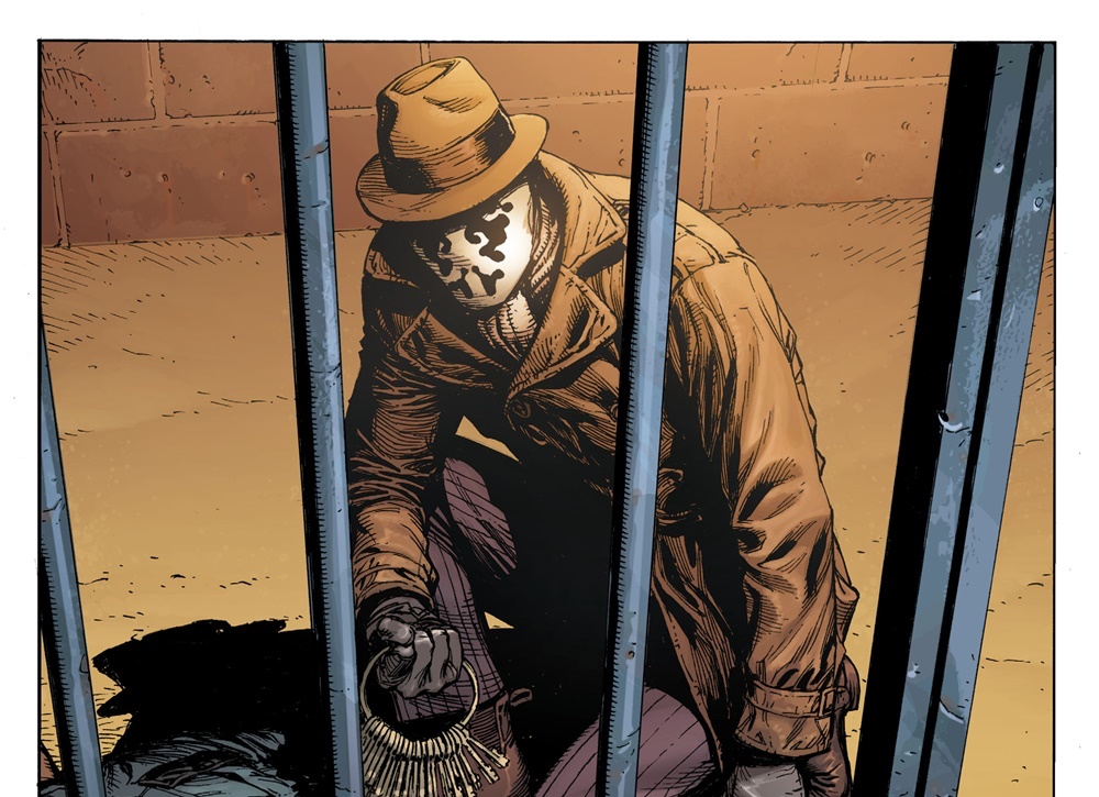Rorschach's identity is revealed in 'Doomsday Clock' #4