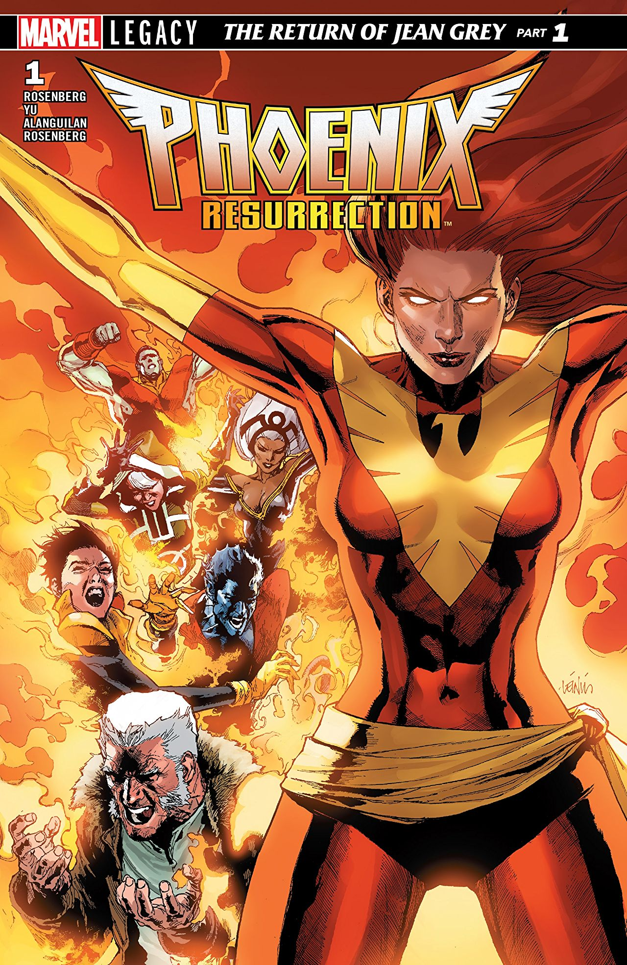 Phoenix Resurrection: The Return of Jean Grey #1 Review