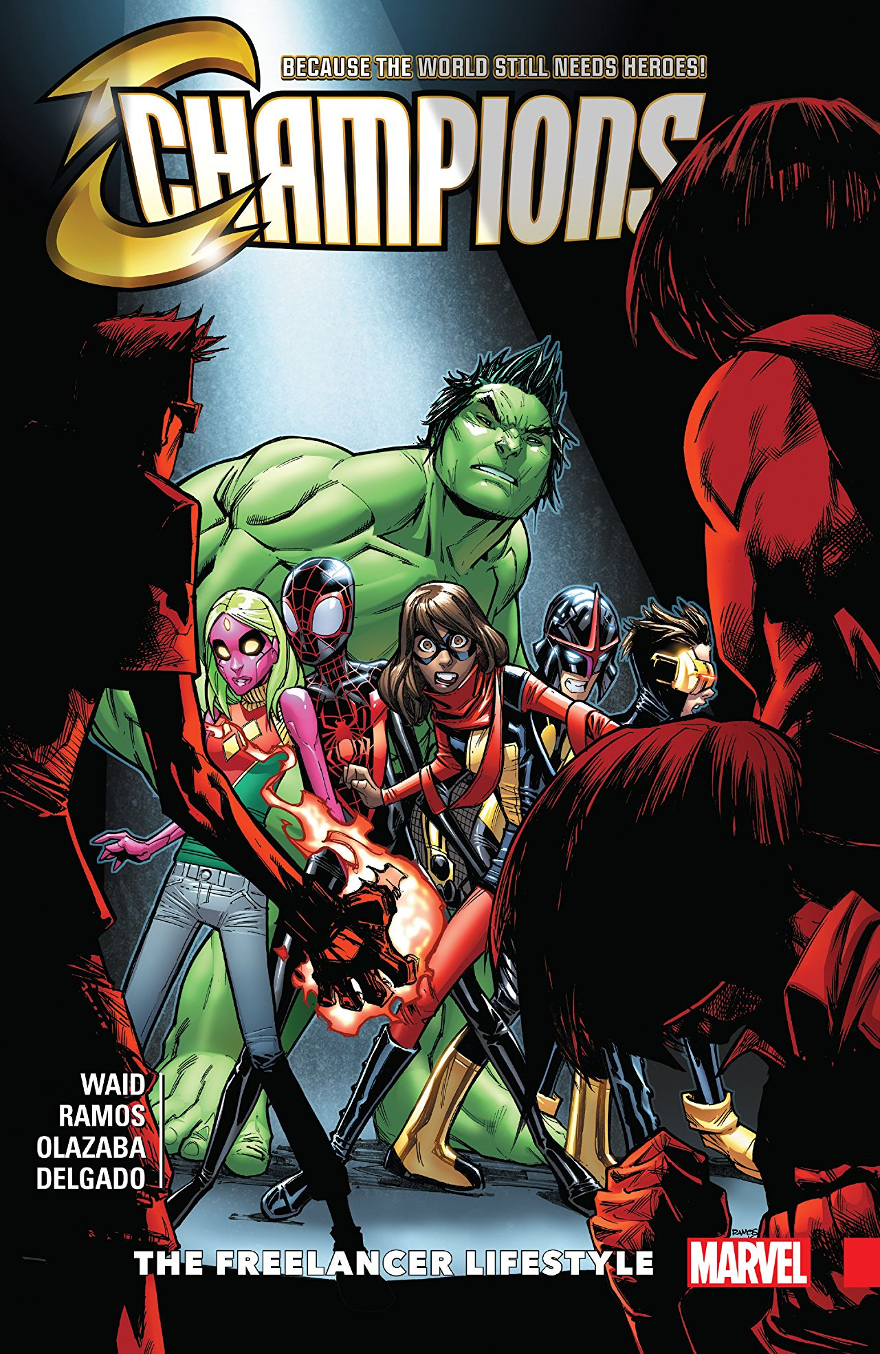 "Mark Waid and Humberto Ramos have been writing this tight team book for quite a while now and issues #6 through #12 are now out in trade paperback form. This trade involves a rival for-hire super team The Freelancers, includes a ""Secret Empire"" tie-in, and continues to develop Cyclops and Viv. Waid has a way of developing his characters, feeling progressive with his commentary on politics and social issues, and has his narrative woven together with Ramos' clean and kinetic lines."