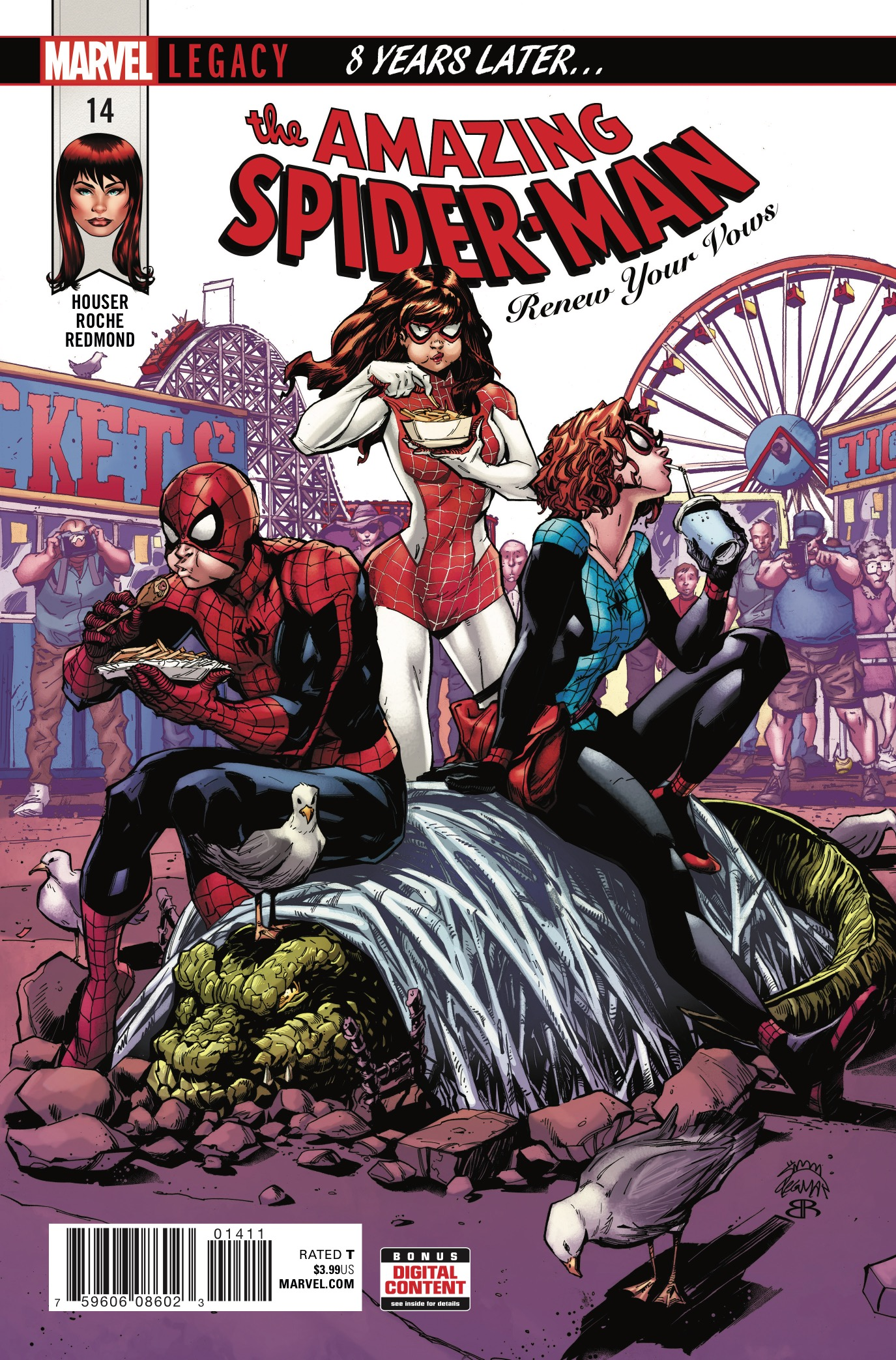 Marvel Preview: Amazing Spider-Man: Renew Your Vows #14