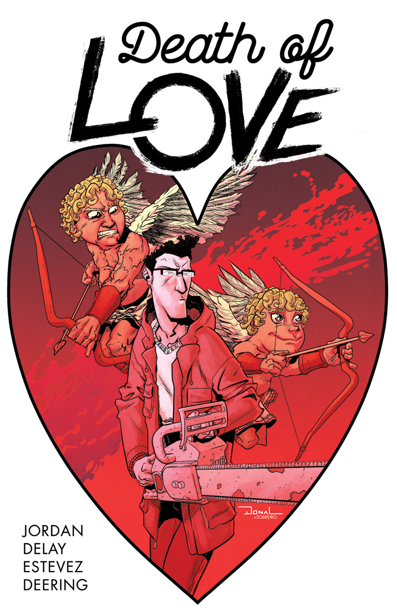 """An early look at """"Death of Love"""" #1, on sale Valentine's Day 2018."""