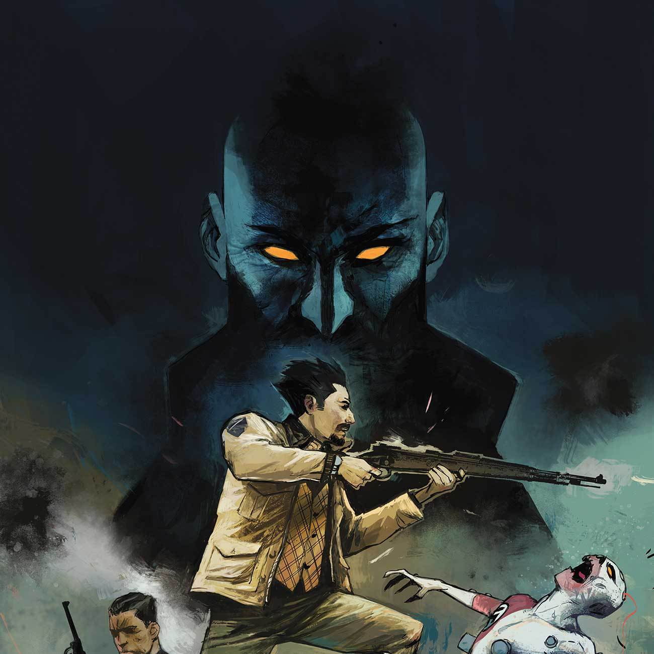 The fast pace and good action scenes come complete with interesting backstories. Get it!