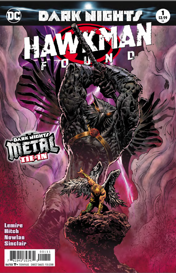 Hawkman: Found #1 Review