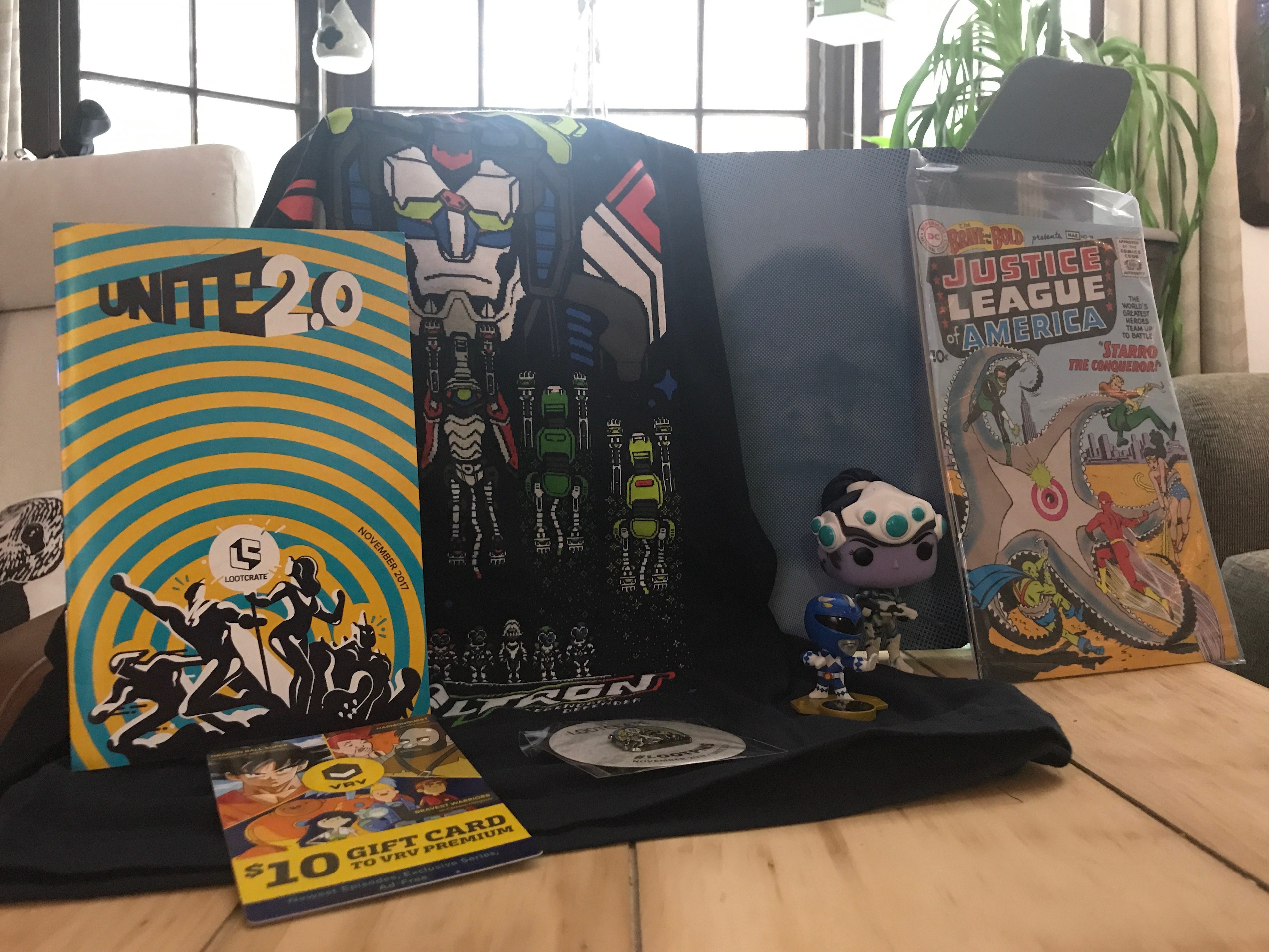 Unboxing/Review: Loot Crate November 2017