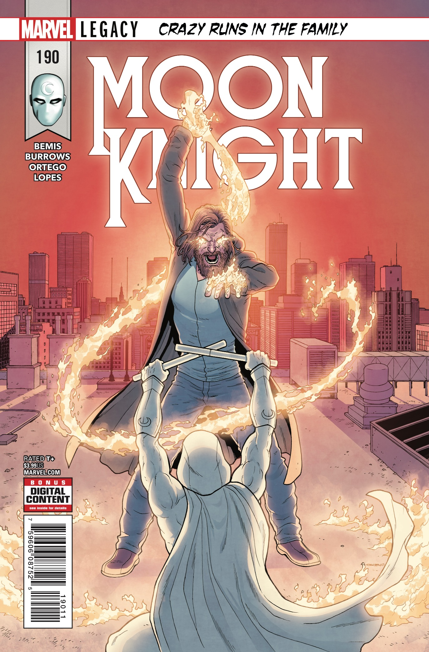 Marvel Preview: Moon Knight #190