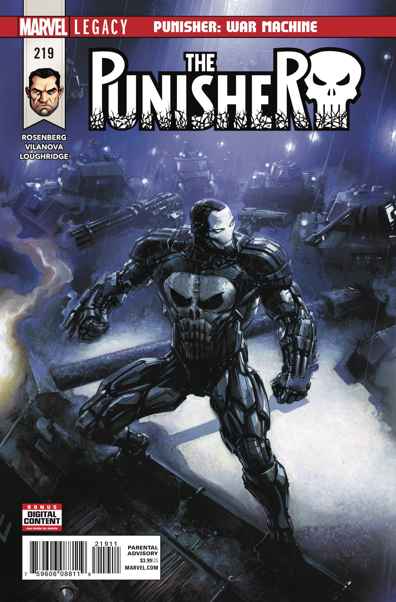 The Punisher #219 Review