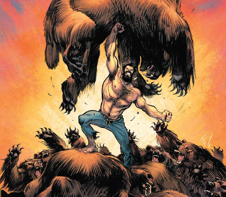 Shirtless Bear-Fighter! Volume 1 review: a hysterically fun tale filled with humor and heart
