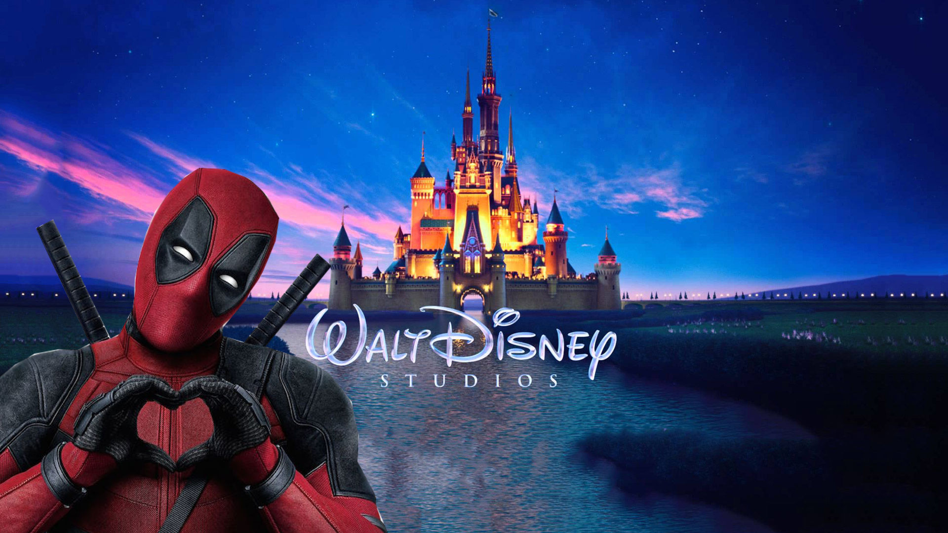 It's only been a few hours since the Disney/Fox blockbuster deal and Deadpool is already in trouble with his new bosses.