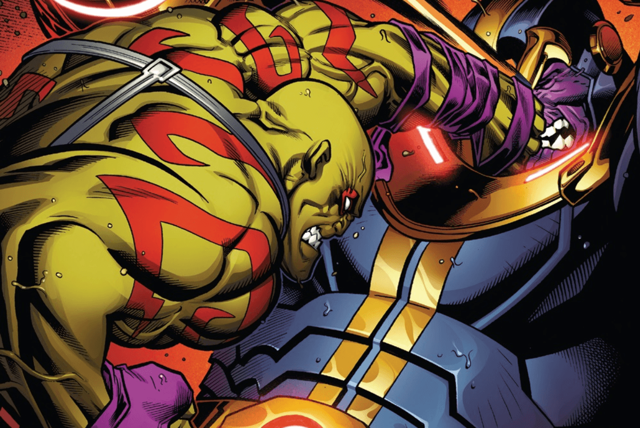 Drax battles Thanos in latest leaked 'Avengers: Infinity ...