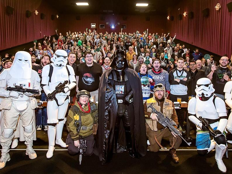 The Last Jedi premieres in El Paso