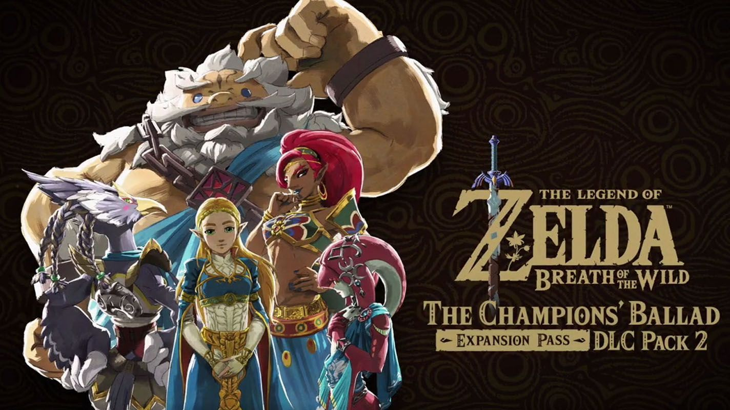 Watch the official trailer for 'The Legend of Zelda: Breath of the Wild - Expansion Pass: DLC Pack 2 The Champions' Ballad'