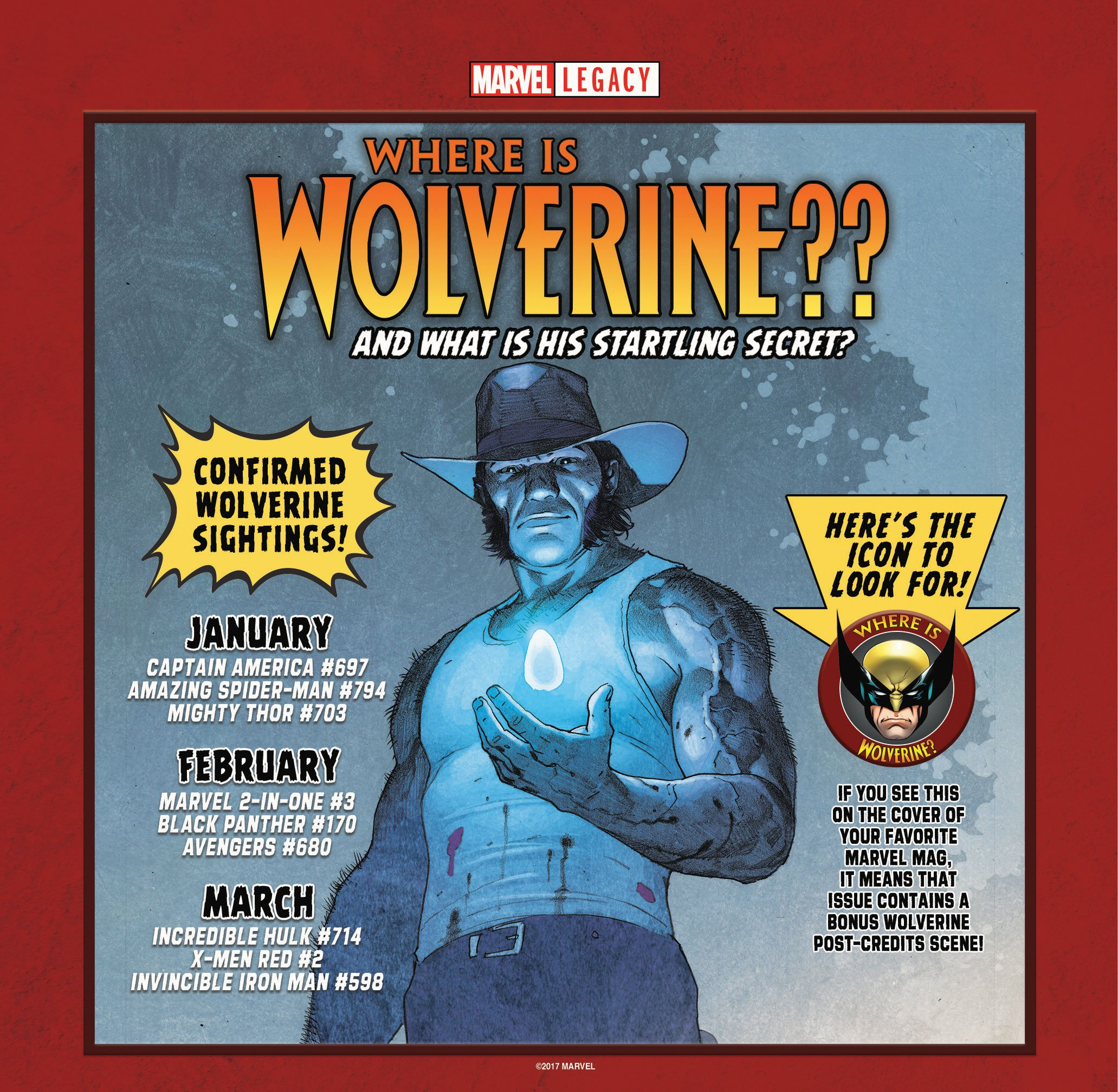 Weekly Wolverine Watch 1:  Captain America #697