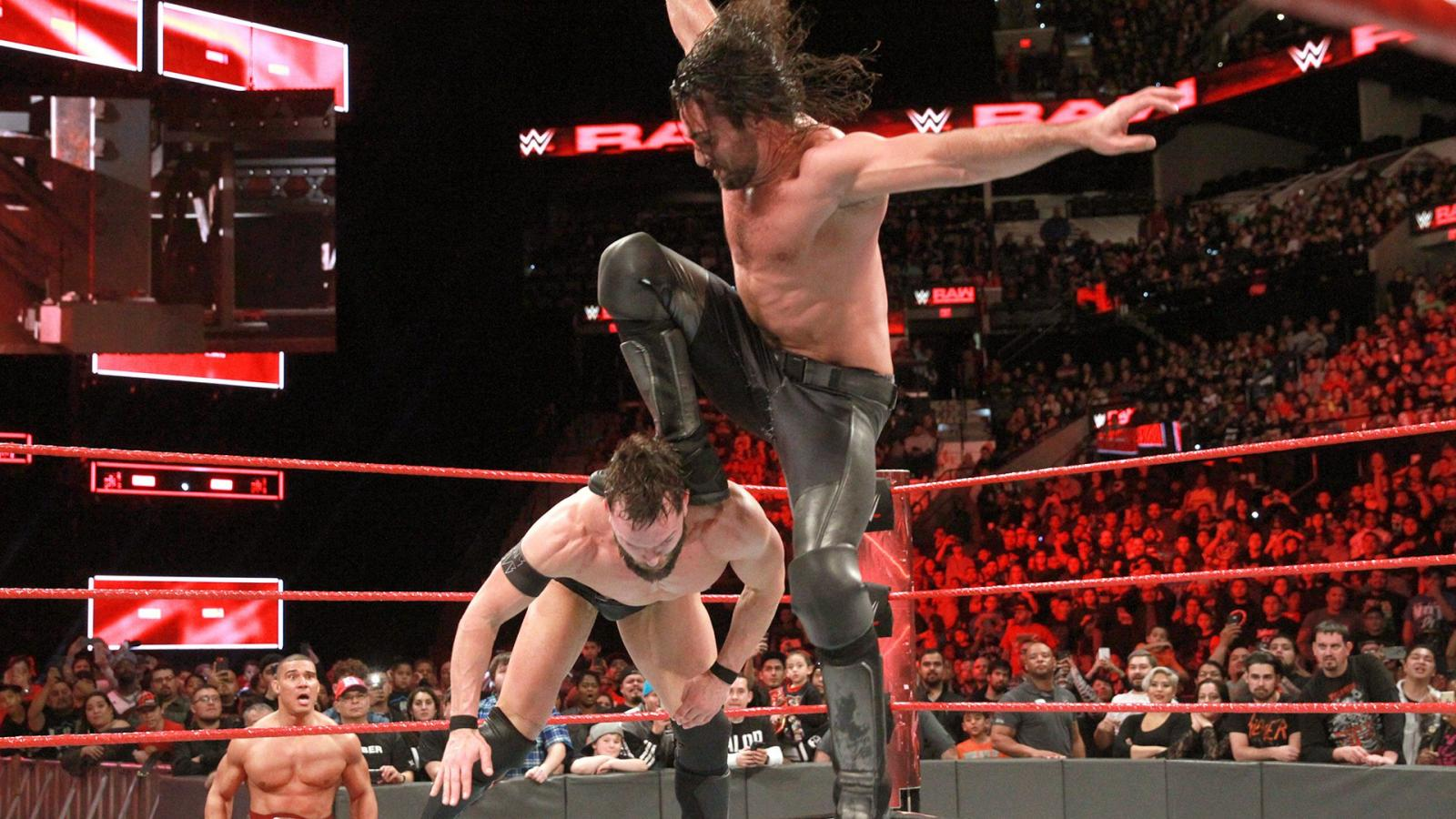 Seth Rollins just brought back the curb stomp (on Martin Luther King Day)