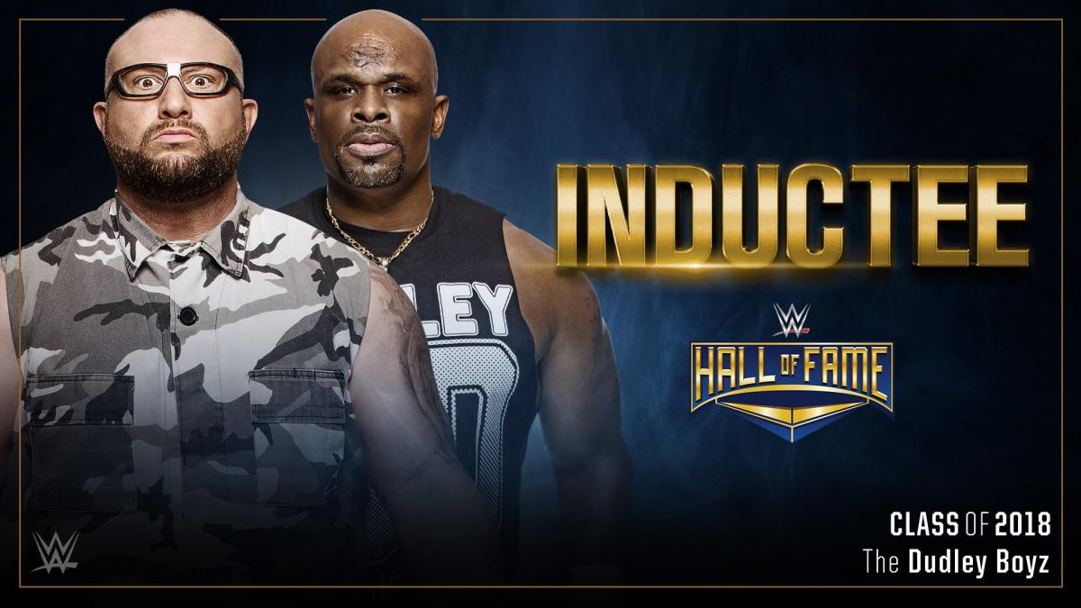 The Dudley Boyz are WWE Hall of Fame bound