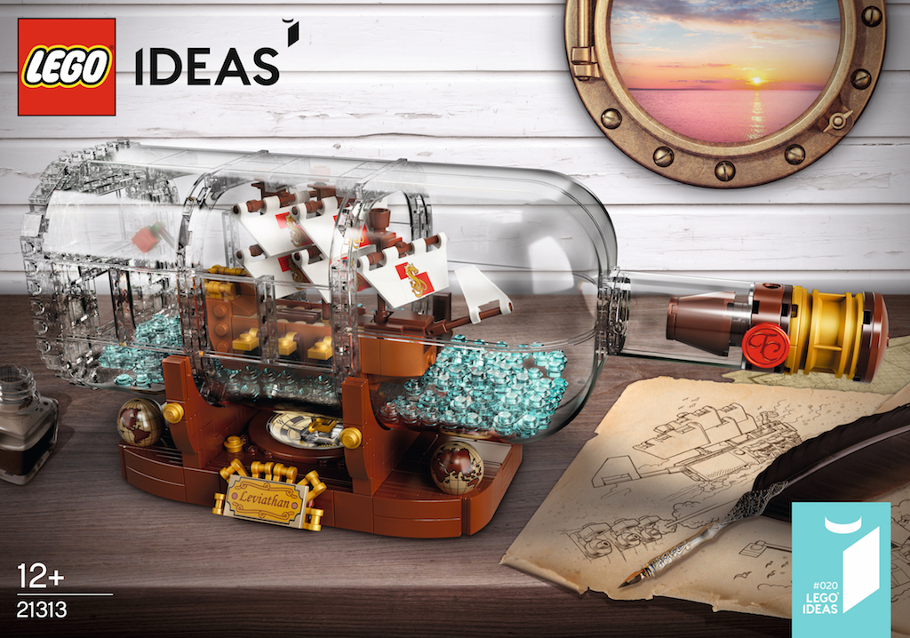 LEGO Ideas reveals new Ship in a Bottle building set
