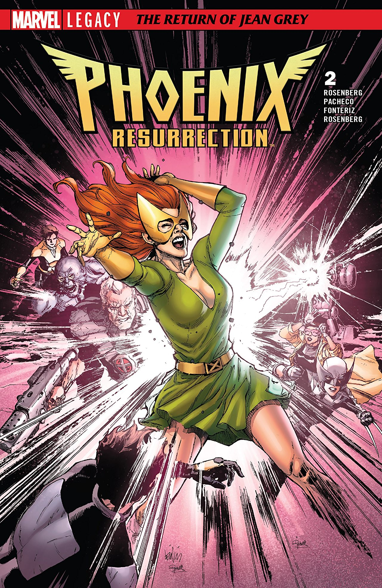 Phoenix Resurrection: The Return of Jean Grey #2 Review