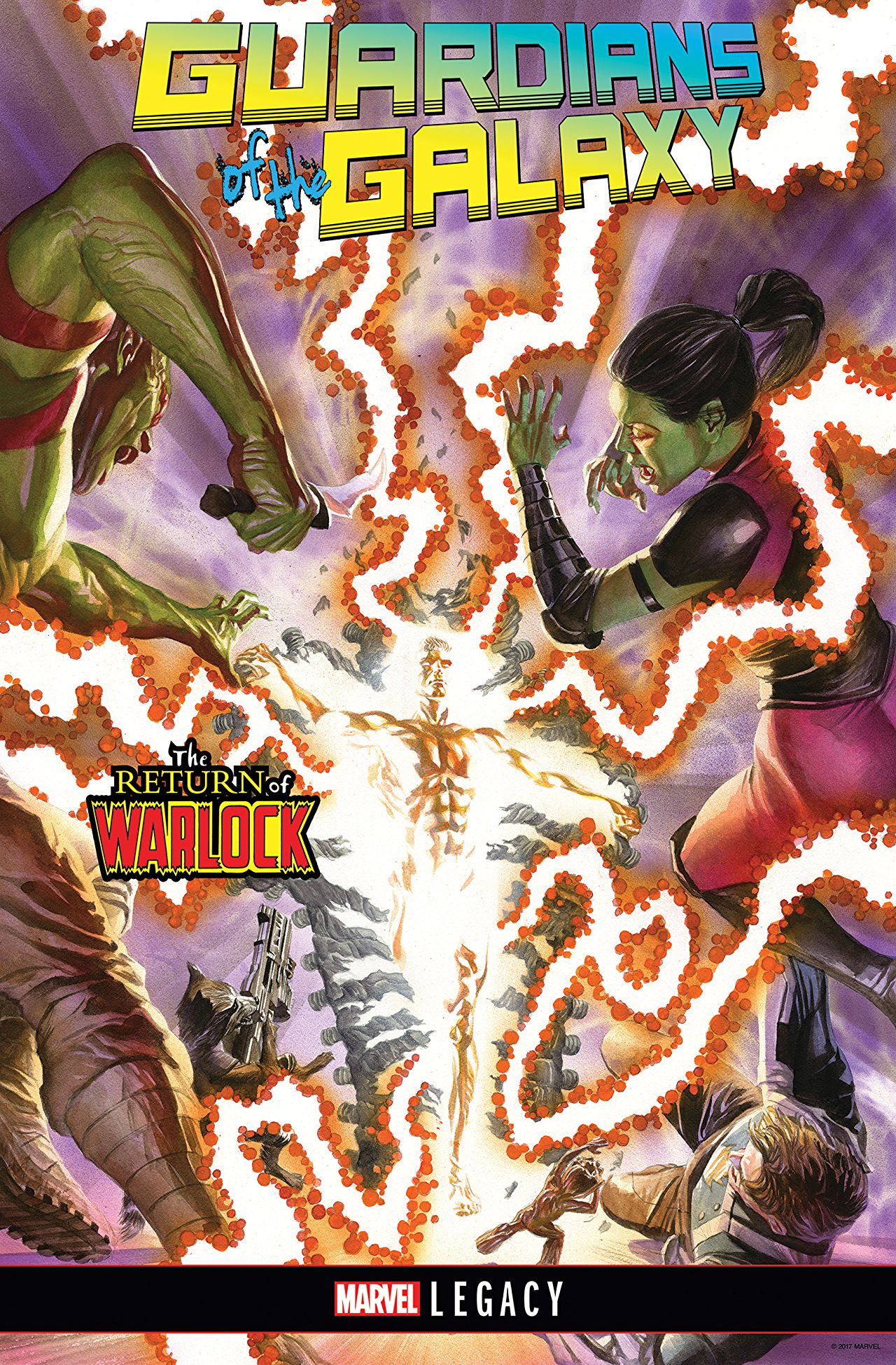 A Guardian of the Galaxy quits in the series' final issue