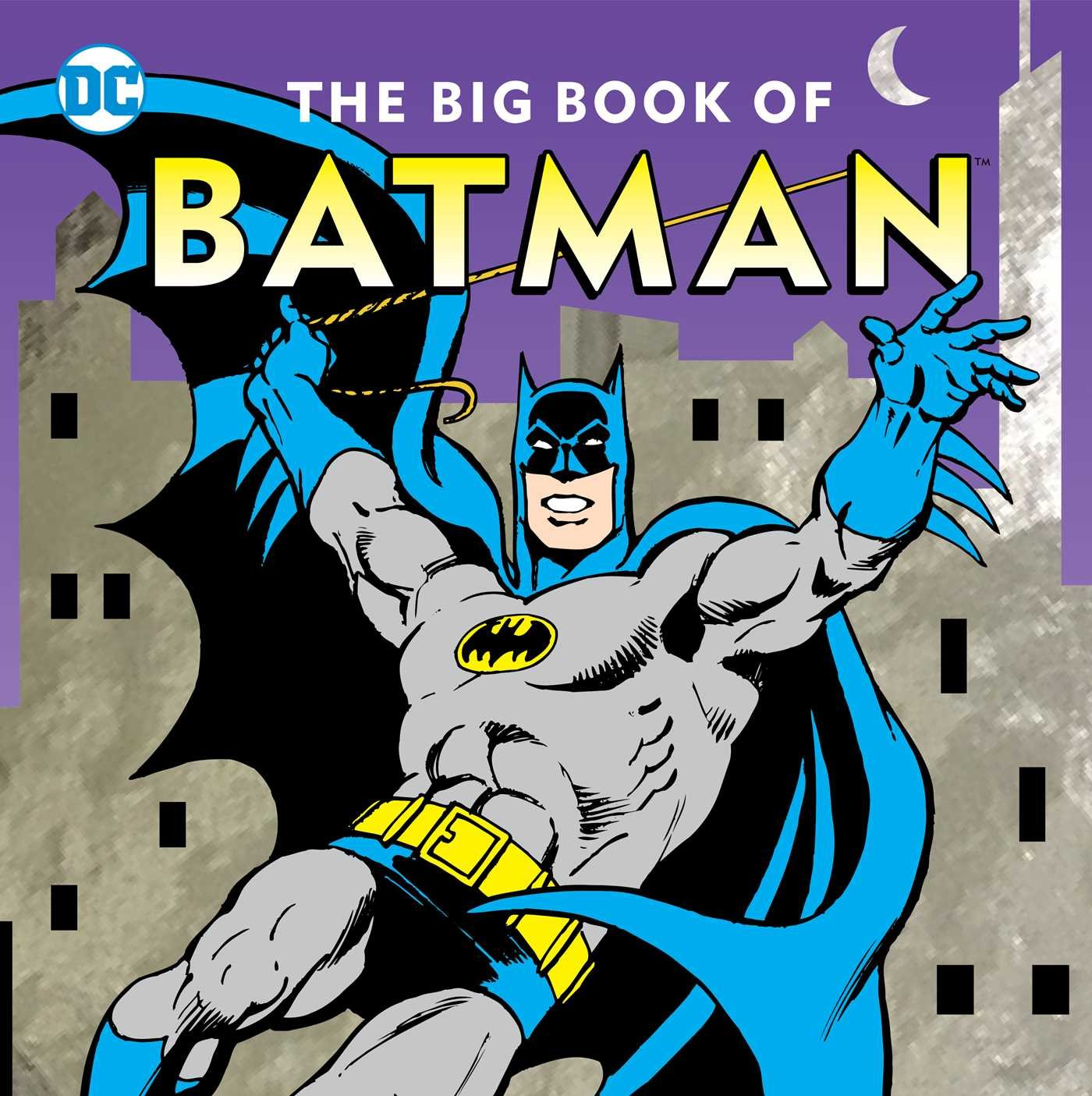 'The Big Book of Batman' is a perfect addition to your kids' bookshelves, and won't leave you bored either