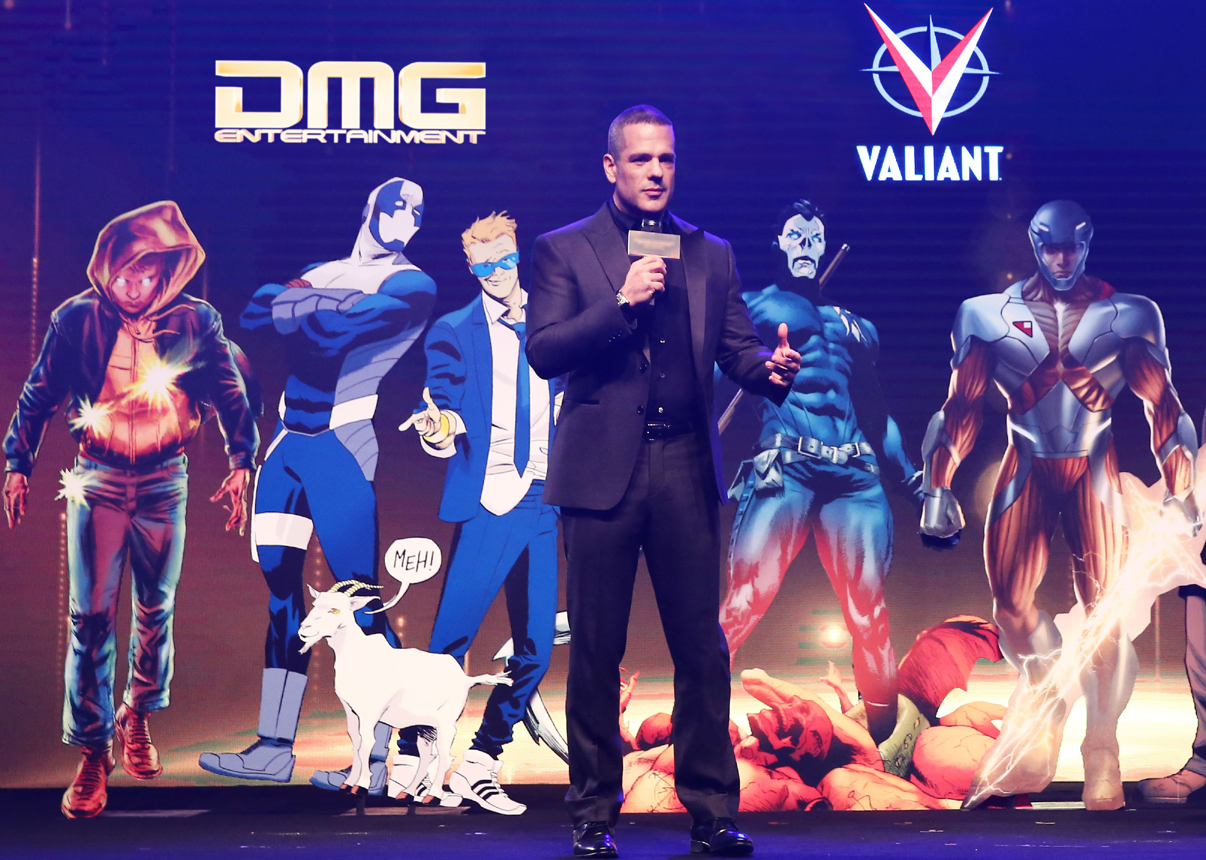 Valiant Entertainment gets one step closer to a cinematic universe