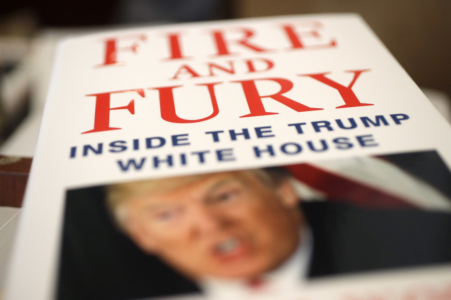 Explosive Trump tell-all 'Fire and Fury' will be adapted into a television series