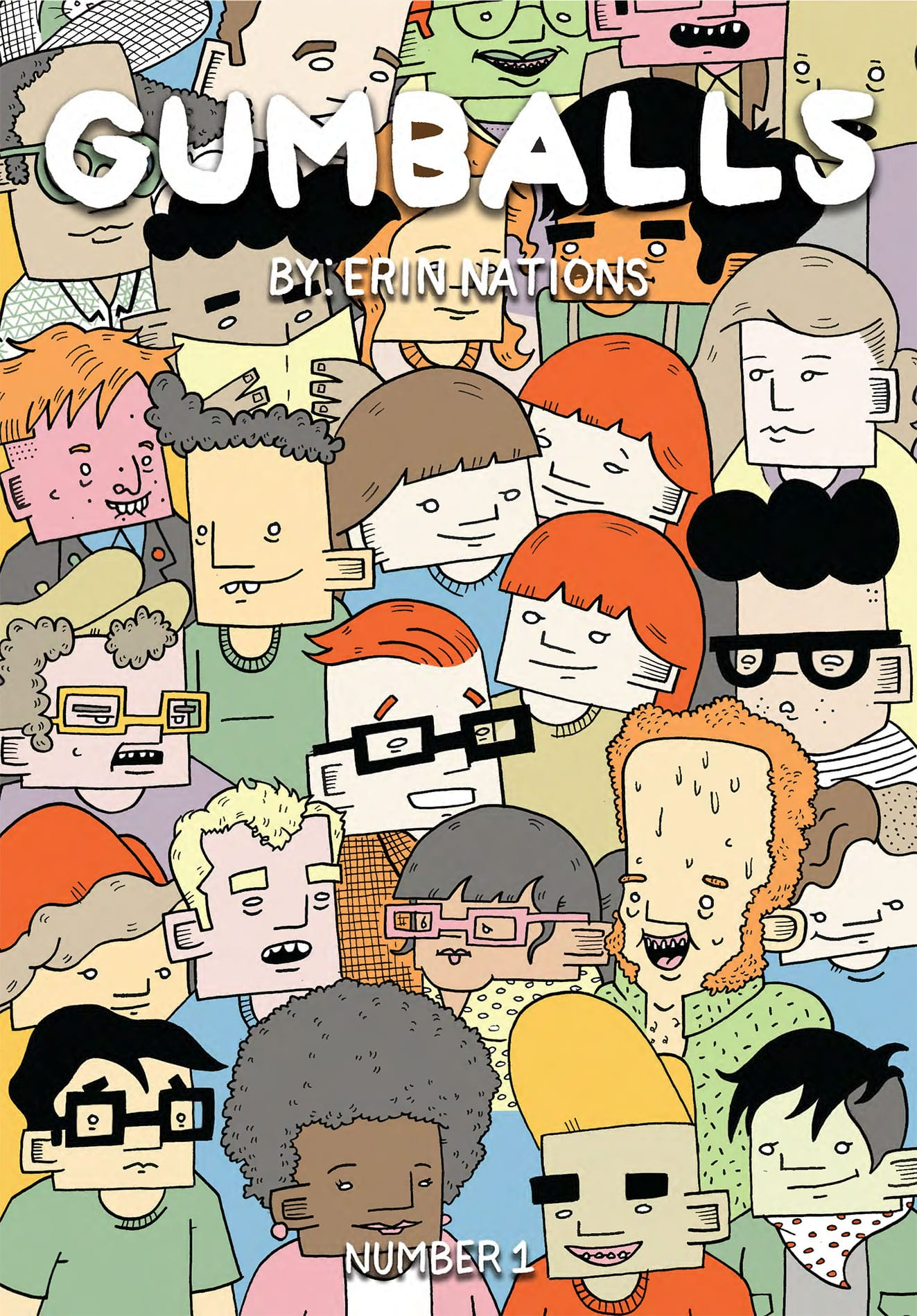 The debut issue of a fun, quirky anthology series.