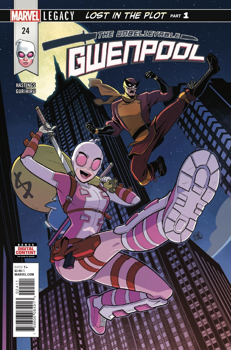 Marvel Preview: The Unbelievable Gwenpool #24