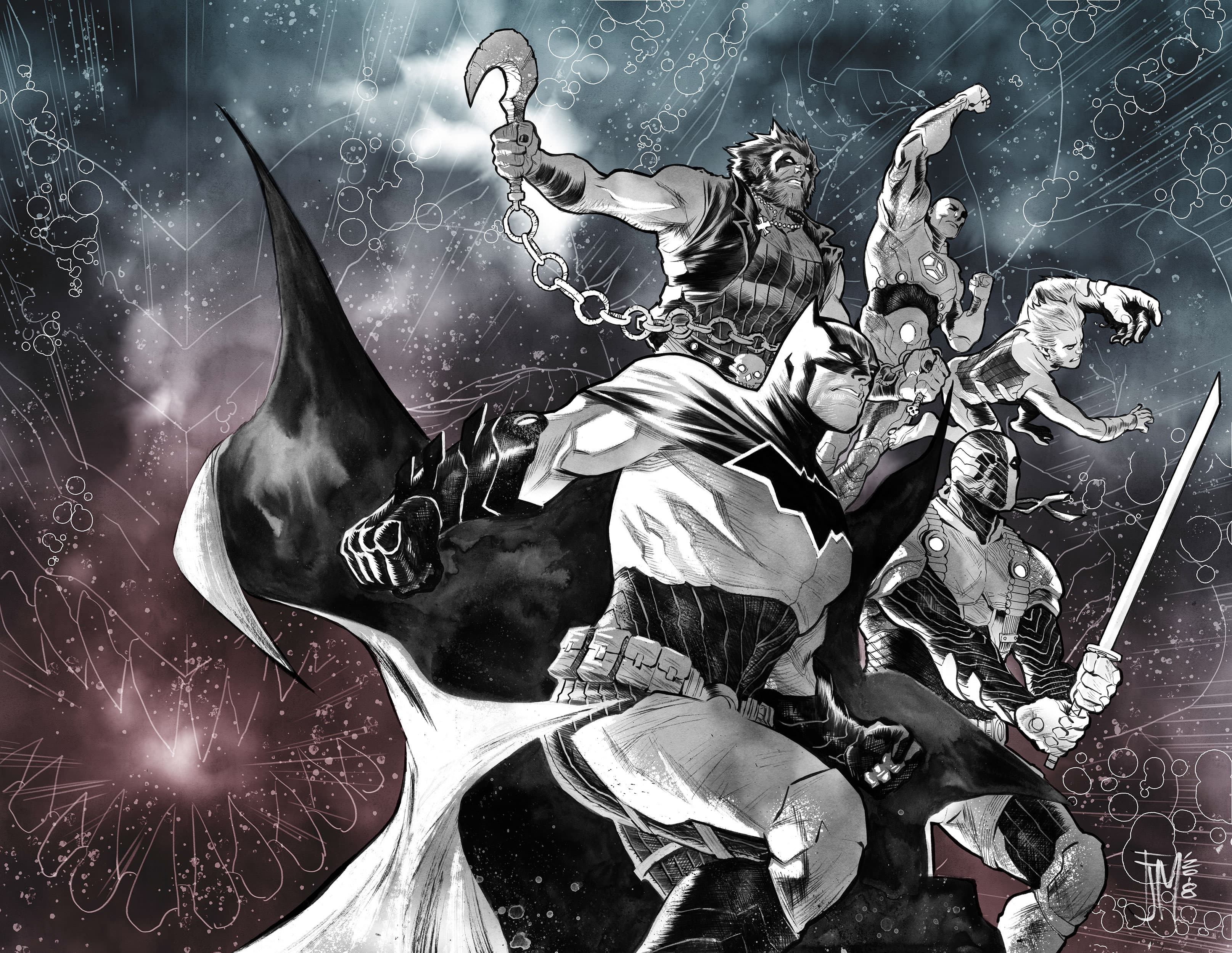 Weekly Four-Issue Miniseries Follows Events from the Cataclysmic Conclusion of DARK NIGHTS: METAL
