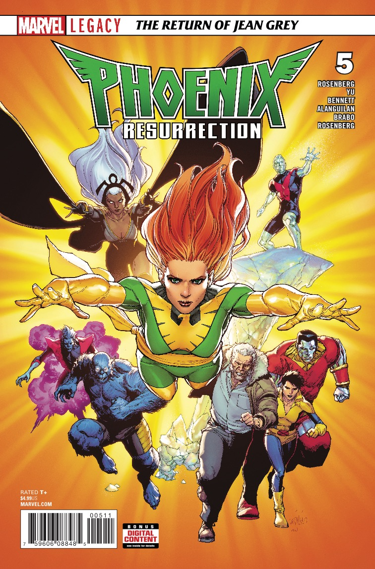 Marvel Preview: Phoenix Resurrection: The Return Of Jean Grey #5