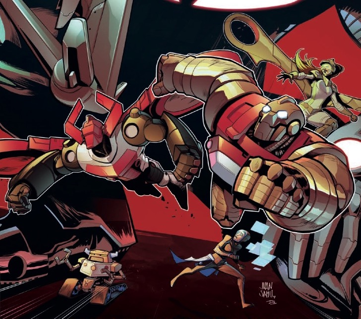 [EXCLUSIVE] IDW Preview: Rom & The Micronauts #2