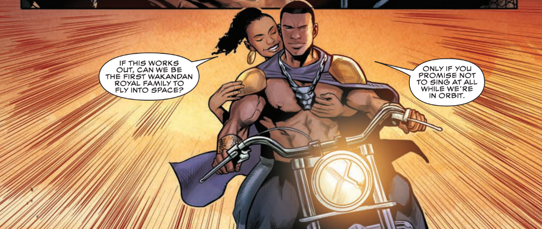 Rise of the Black Panther #1 Review