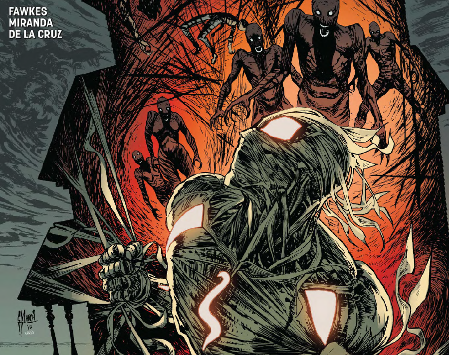 Ragman #4 reveals origins tied to magic and a Christian backstory