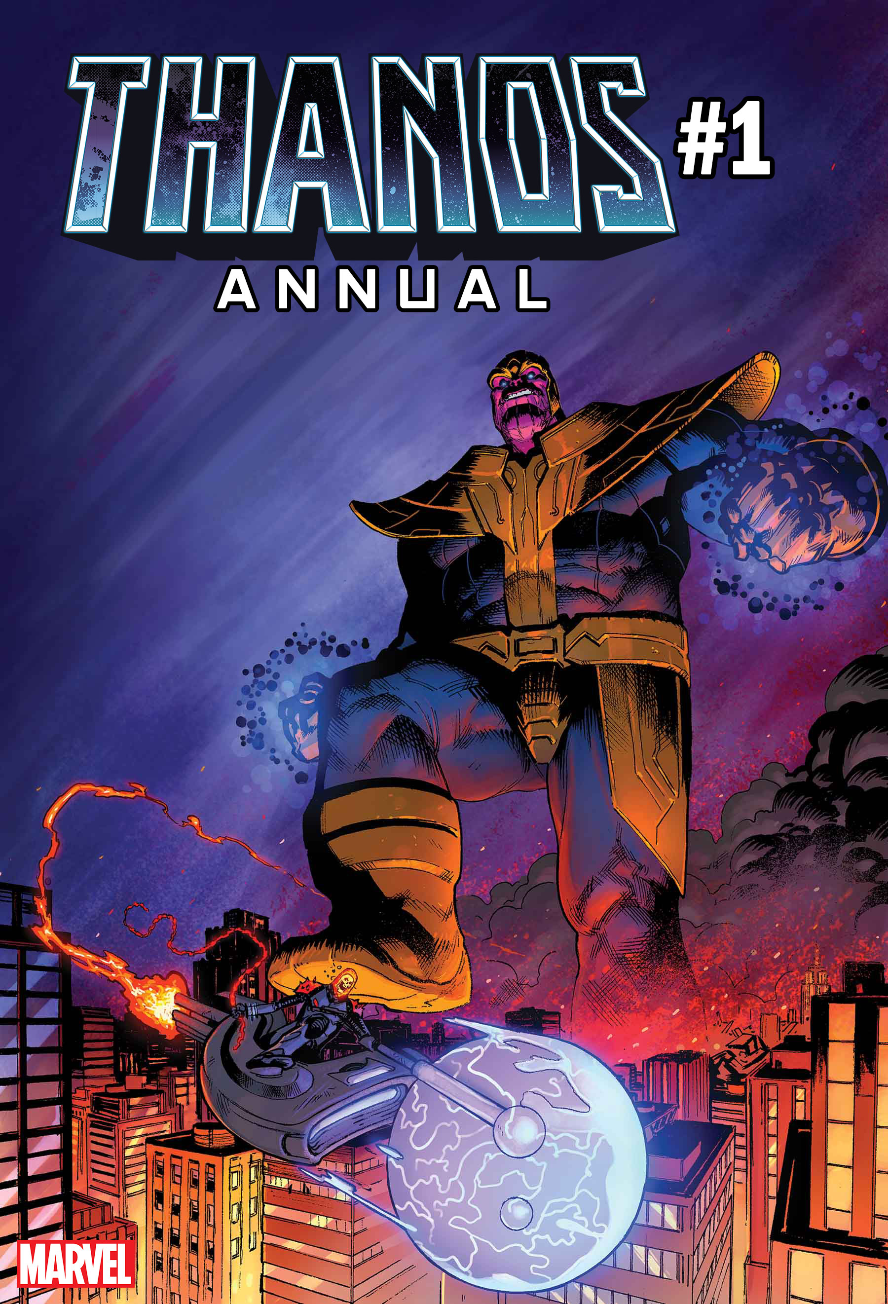 Thanos Annual #1 features the Cosmic Ghost Rider