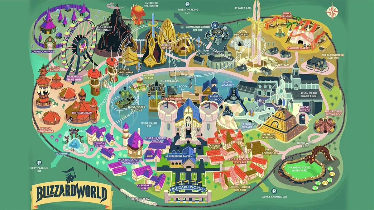 Blizzard World isn't real just yet, but this Map of it sure is