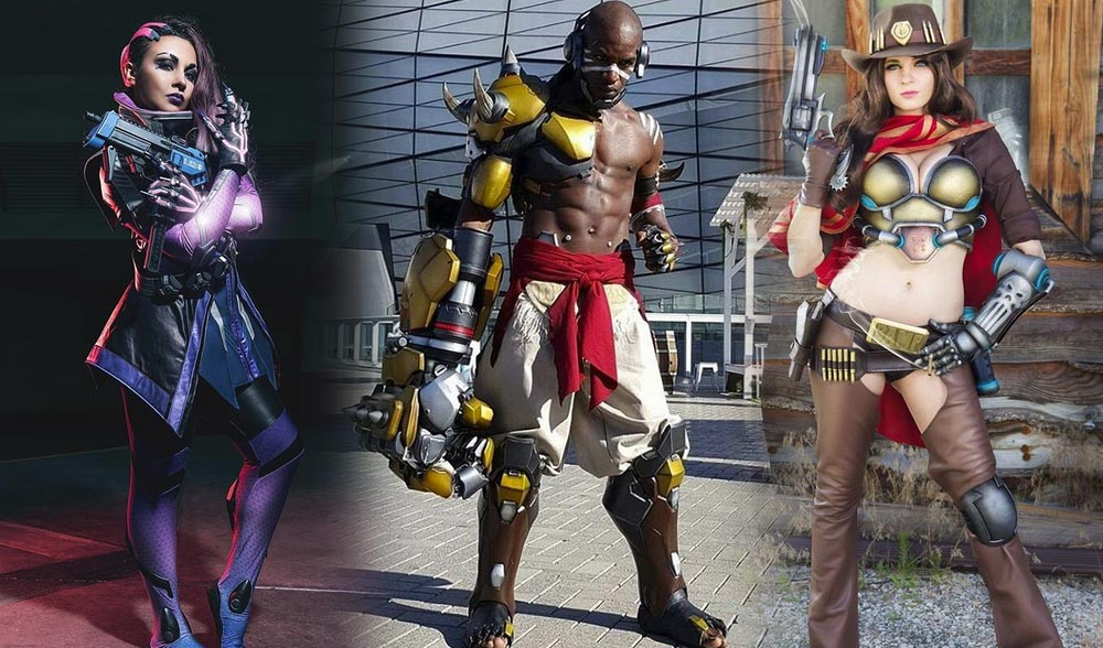 Best of Overwatch offense heroes cosplay from around Instagram