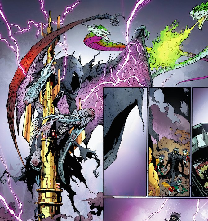 Dark Nights: Metal #5 features dragons that would make the ones in Game of Thrones crap their scales.