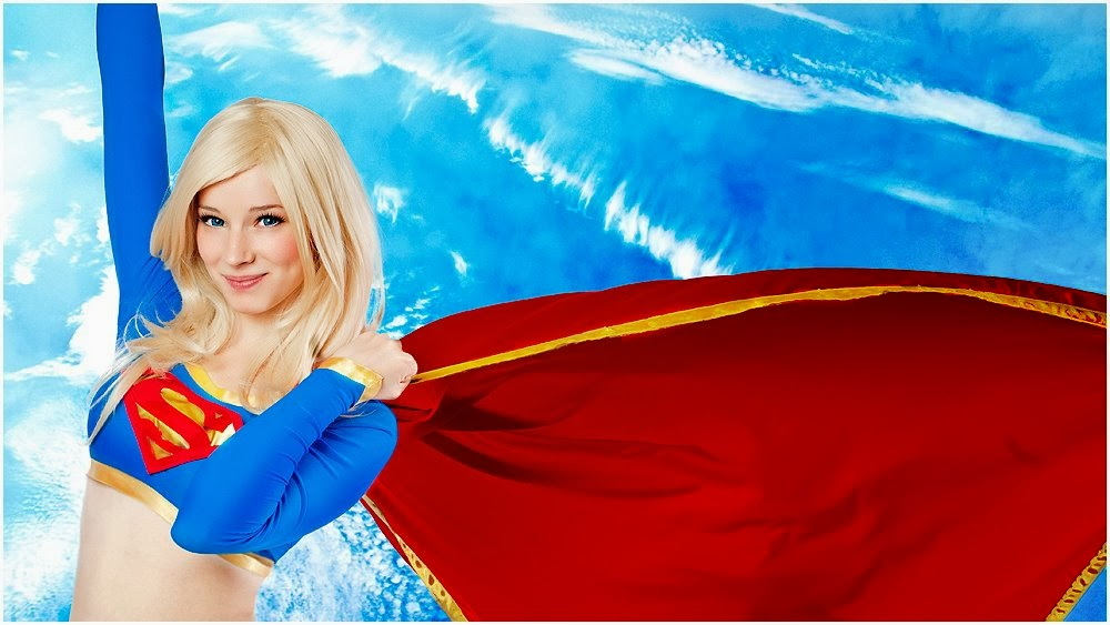 Over 30 images of fan-favorite cosplayer Enji-Night in one of her most iconic getups:  Supergirl.