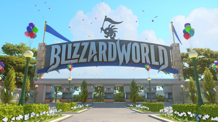 """Overwatch's massive new update, including """"Blizzard World"""" and over 100 new cosmetic items, is now live"""