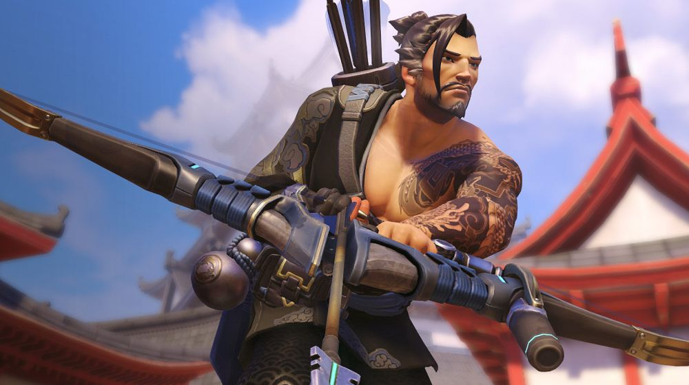 Hanzo nerfed and several heroes receive damage falloff buff on Overwatch PTR