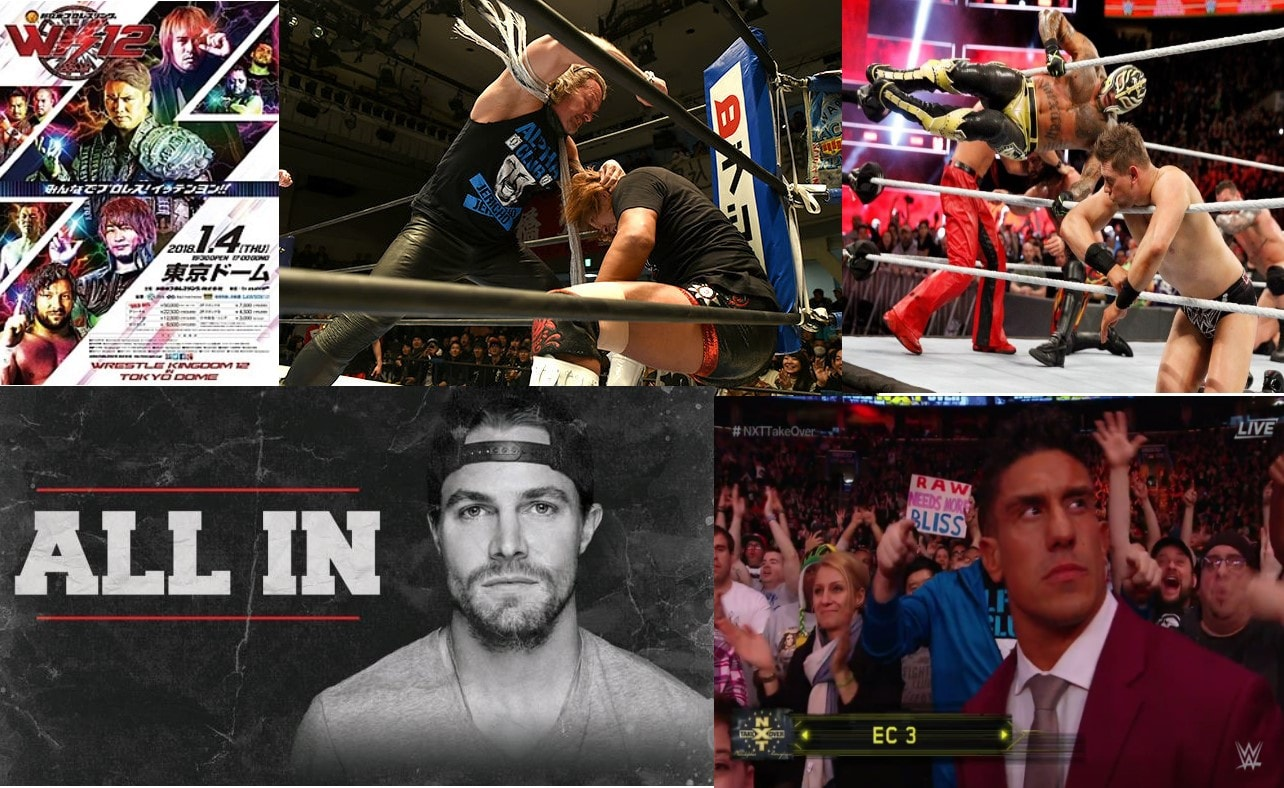 2018 has already been a banner year for pro wrestling fans