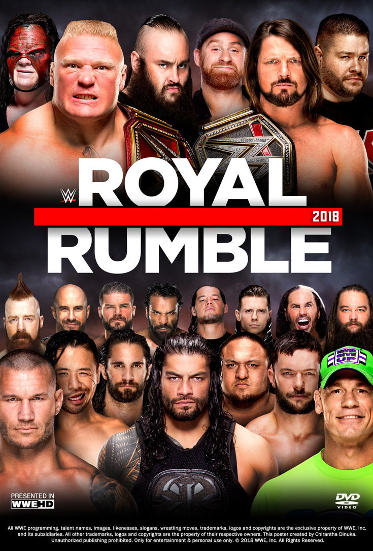 The 2018 Royal Rumble Drinking Game