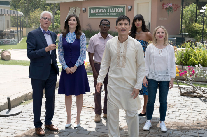 We're not in Kansas anymore: 'The Good Place' takes the yellow brick road to philosophical salvation