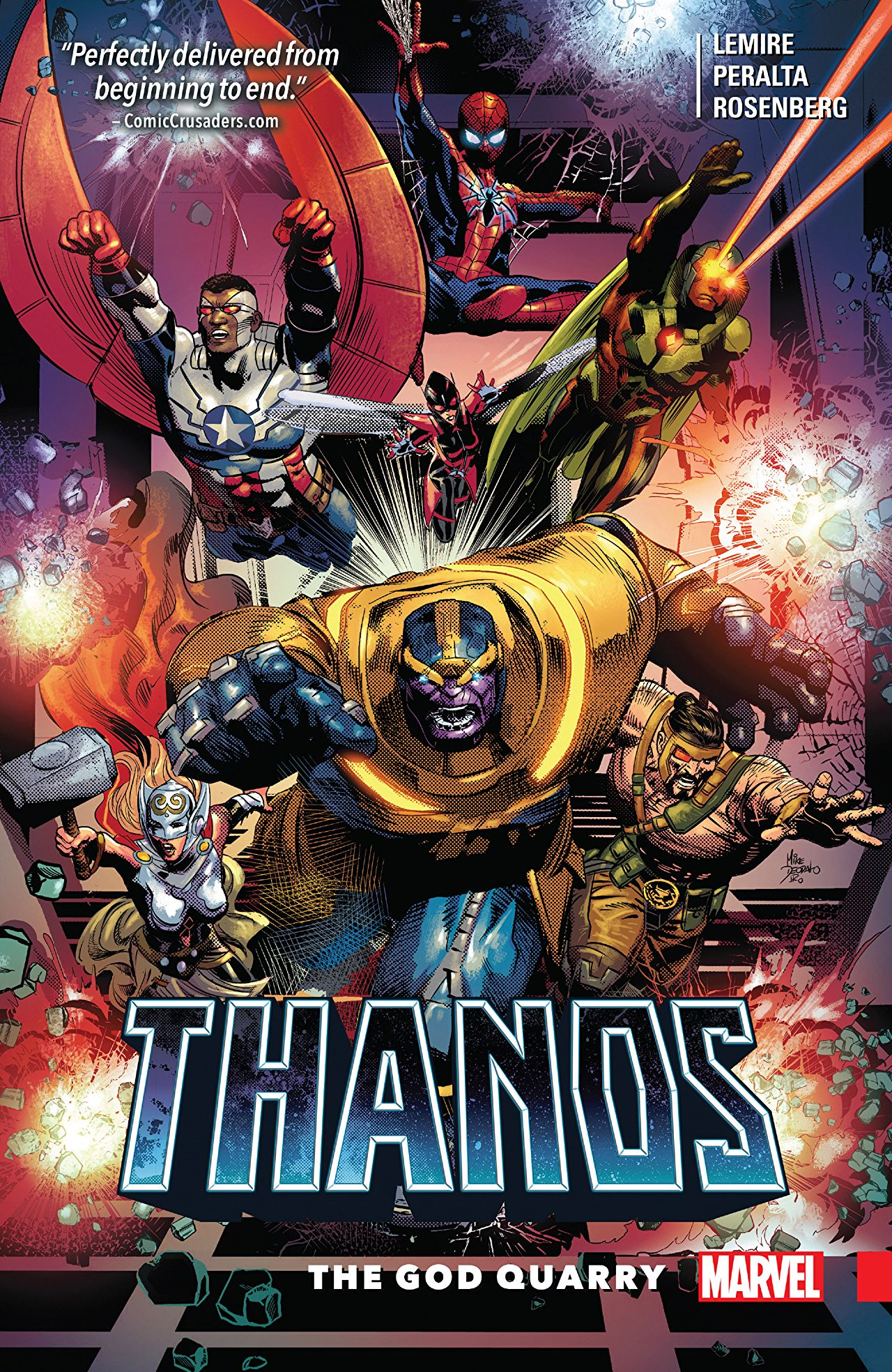 'Thanos Vol. 2: The God Quarry' is light on substance and low on ideas