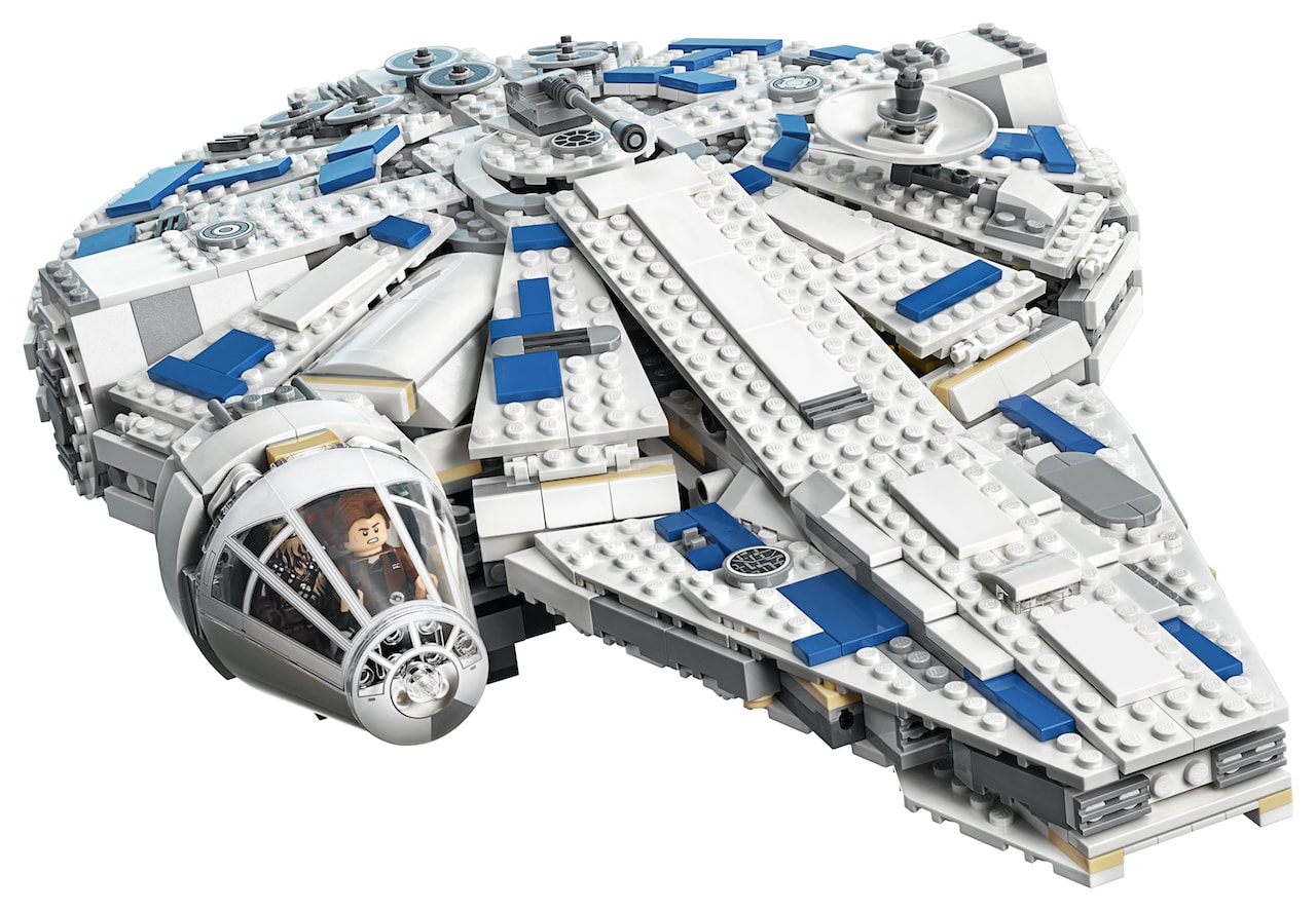 LEGO reveals Kessel Run Millennium Falcon out this April