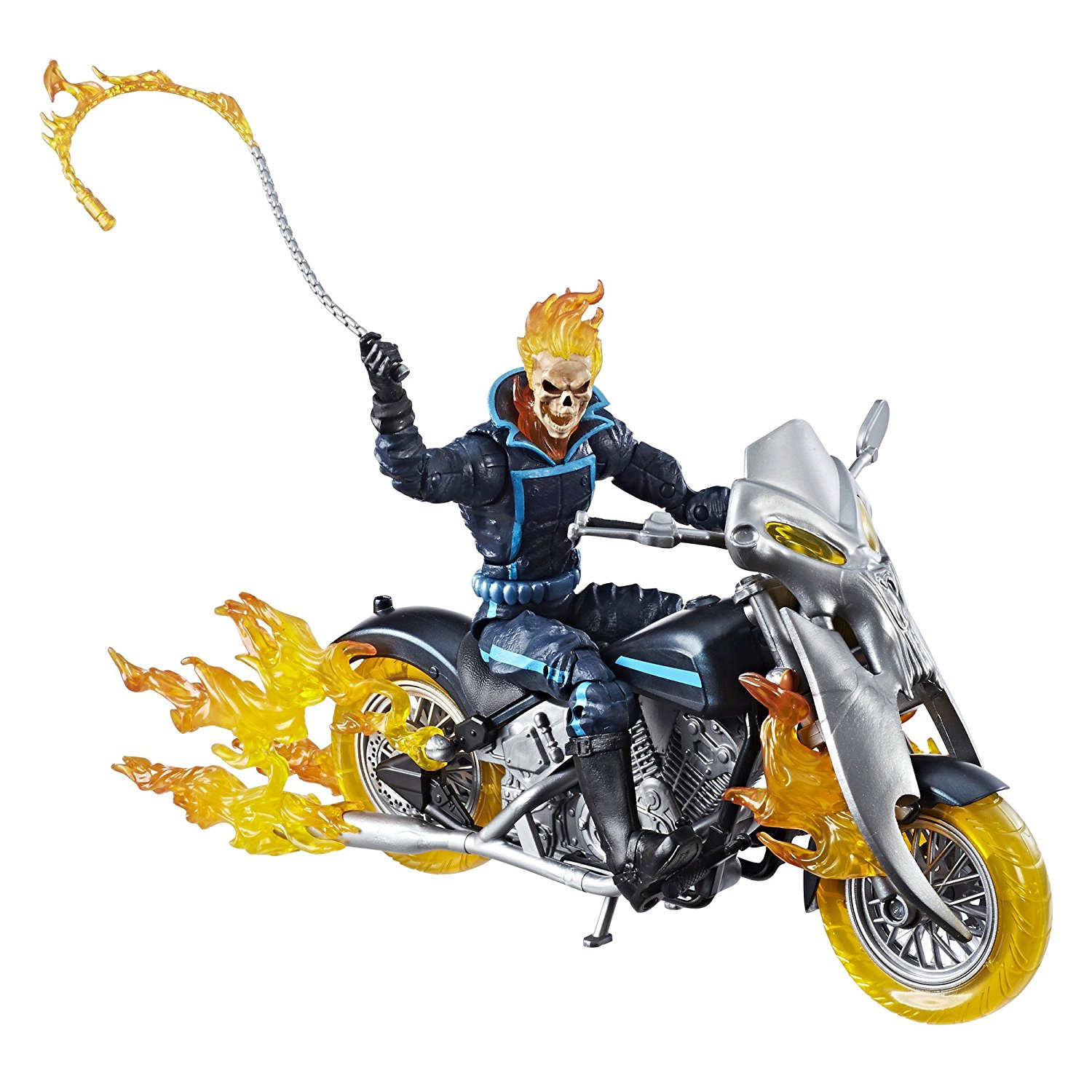 Up for preorder: Marvel Legends Ghost Rider with Flame Cycle
