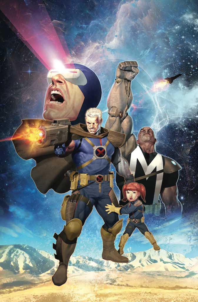 """Marvel reveals Cable """"Greatest Hits"""" variants this March"""